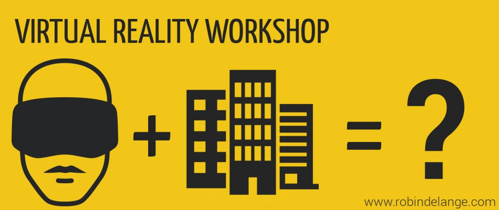 Virtual Reality workshop banner 2